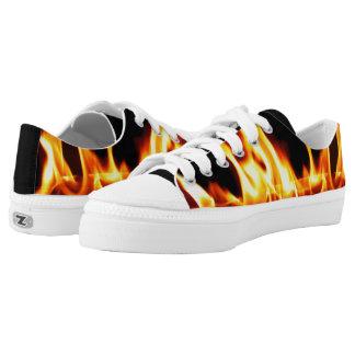 Llama en los zapatos superiores de Lo Zipz Zapatillas
