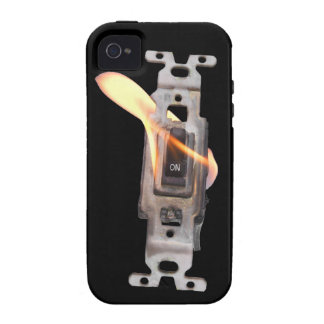 ¡LLAMA ENCENDIDO! ¡Encienda el fuego! iPhone 4 Carcasas
