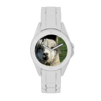 Llama Face Wristwatches
