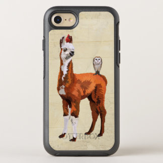 LLAMA & FEATHERS OtterBox SYMMETRY iPhone 7 CASE