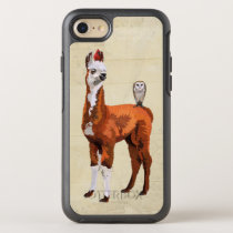 LLAMA & FEATHERS OtterBox SYMMETRY iPhone 8/7 CASE
