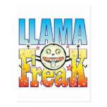 Llama Freaky Freak Postcard