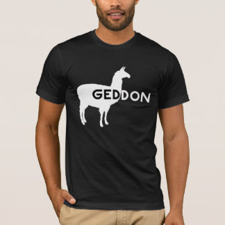 Llama Geddon (Armageddon) Playera