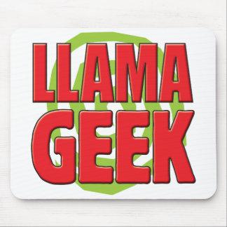 LLama Geek Mouse Pad