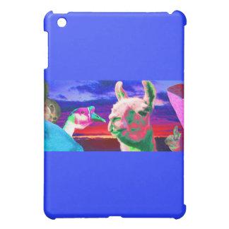 Llama, Goose, Orca, Goat, Bunny Montage iPad Mini Cases