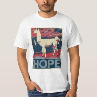 Llama Hope T-shirts