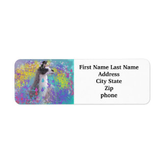 Llama in Fantasy Dream Land Label