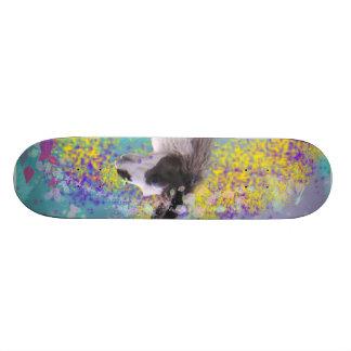 Llama in Fantasy Dream Land Skateboard Deck