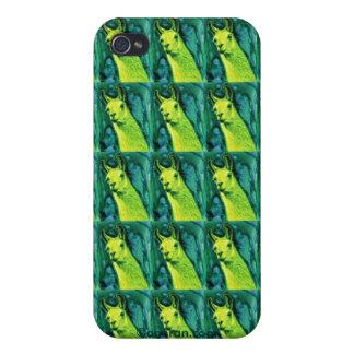 """Llama iPhone 4 Case - """"Llemon-Llime Llama"""""""