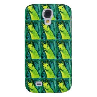 "Llama iPhone Galaxy S4 Case - ""Llemon-Llime Llama"""