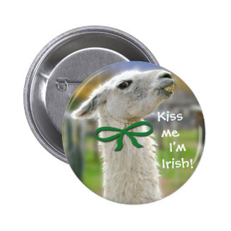 Llama irlandesa: Béseme Pin Redondo 5 Cm