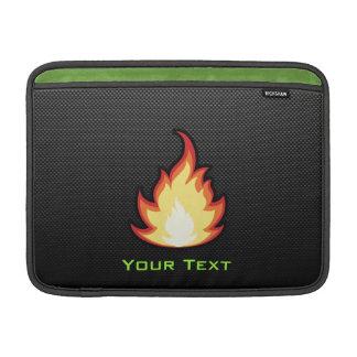 Llama lisa del fuego funda  MacBook