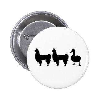Llama Llama Duck 2 Inch Round Button