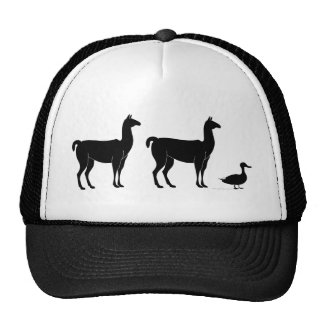 Llama Llama Duck Trucker Hat
