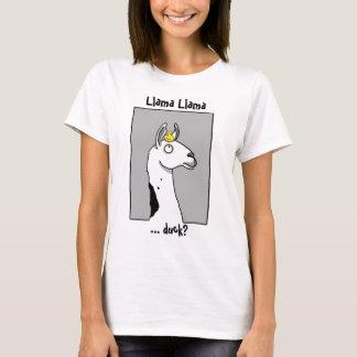 Llama Llama ...duck? T-Shirt