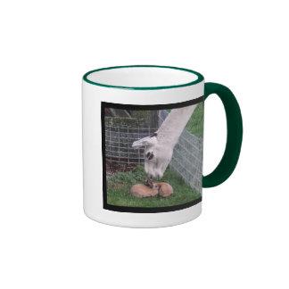 Llama Llove and Bunny Ringer Mug