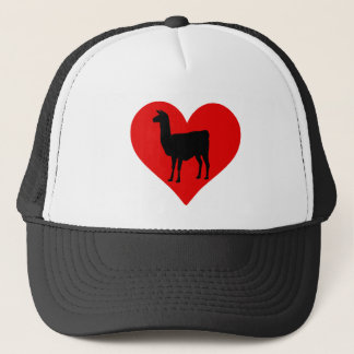 Llama Love Trucker Hat