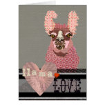 Llama Love  Valentine Card