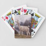 Llama Machu Picchu, Peru Bicycle Playing Cards