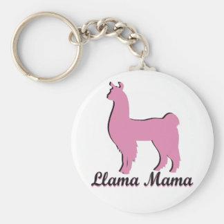 Llama Mama Key Chain