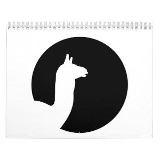 Llama moon calendars
