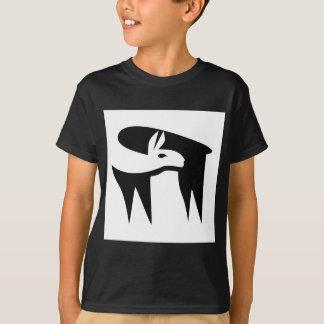 Llama NegaSpace T-Shirt