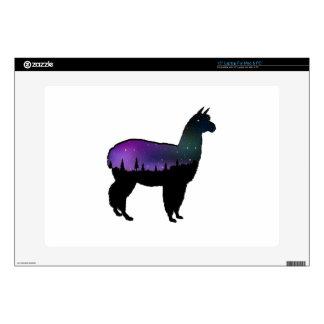 "Llama Nights Skin For 15"" Laptop"