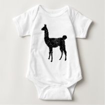Llama One Piece Infant Baby Creeper