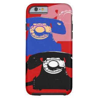 llama por teléfono a estallido-arte funda de iPhone 6 tough