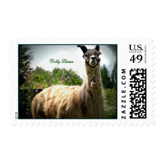 Llama Postage Stamps