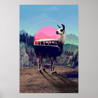 Llama Poster