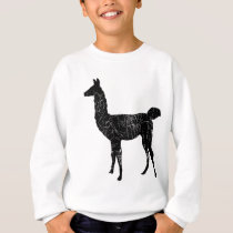 Llama Pullover Sweatshirt Kids and Toddler Sweater
