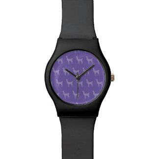 Llama Purples Wristwatches