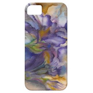 Llama púrpura funda para iPhone SE/5/5s