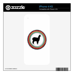 iPhone 4/4S Skin with Jack Russell Terrier Phone Cases design