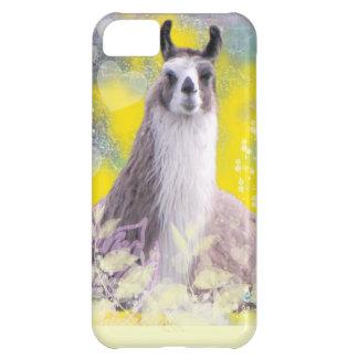 Llama Repose Fiberous Male Llama Montana Smoke2 iPhone 5C Covers