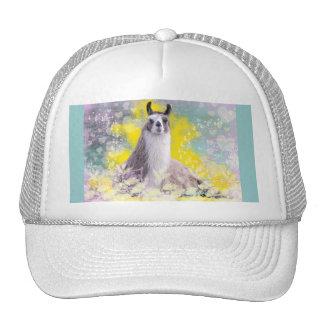 Llama Repose Fiberous Male Llama Montana Smoke Trucker Hat