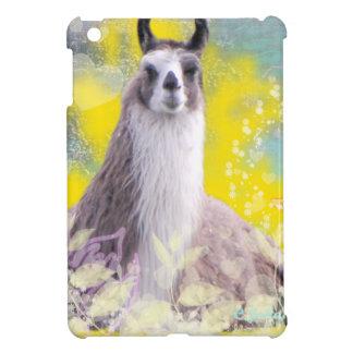 Llama Repose Fiberous Male Llama Montana Smoke iPad Mini Case