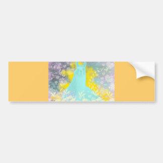 Llama Repose Transcendental Llama Bumper Sticker