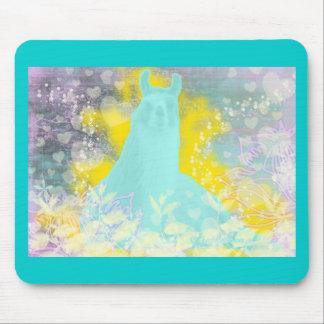Llama Repose Transcendental Llama Mouse Pad
