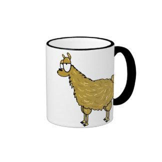 Llama Ringer Coffee Mug