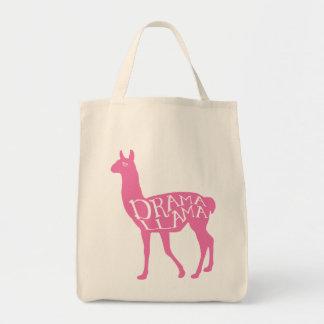 Llama rosada del drama bolsa