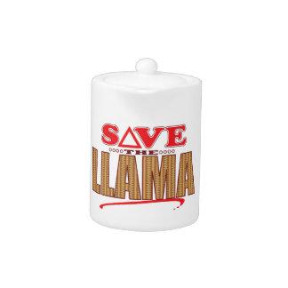 Llama Save Teapot