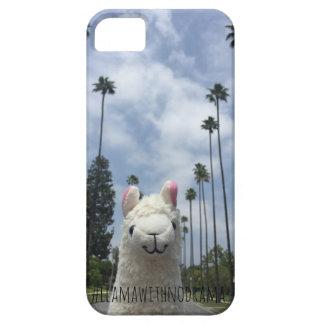 Llama sin el caso del iPhone del LA del drama iPhone 5 Carcasas