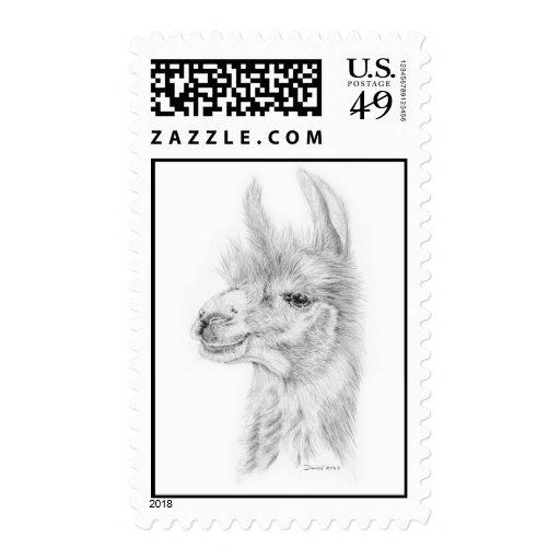 Llama Stamp