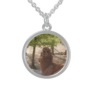 Llama Sterling Silver Necklace