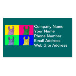 Llama Sweet Pea: The Colorful Matriarch Llama Double-Sided Standard Business Cards (Pack Of 100)