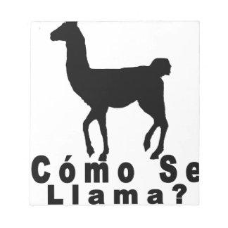 Llama Tshirt.png del SE de Cómo Blocs De Papel