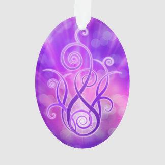 Llama violeta/fuego violeta