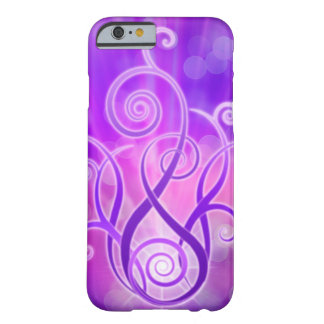 Llama violeta/fuego violeta funda para iPhone 6 barely there